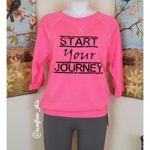 [NEW] Pink Lotus Lightweight Sweatshirt